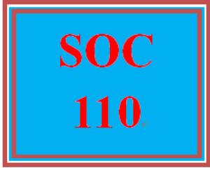 soc 110 week 4 team dynamics summary