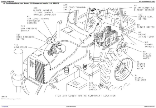 First Additional product image for - John Deere 710D Backhoe Loader Diagnostic, Operation and Test Service Manual (tm1537)