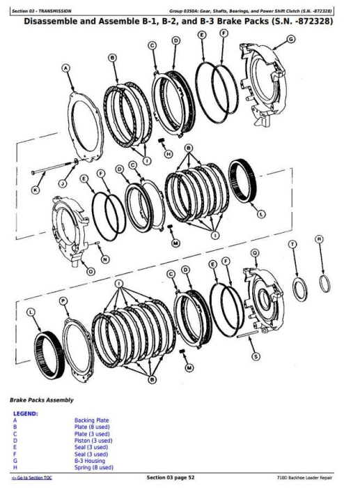 Second Additional product image for - John Deere 710D Backhoe Loader Service Repair Technical Manual (tm1538)