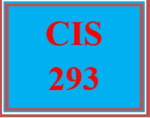 cis 293 entire course