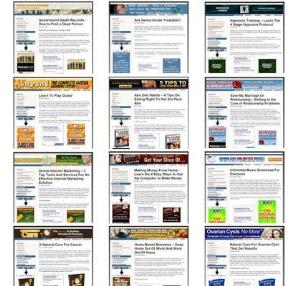47 clickbank sites (plr / mrr)