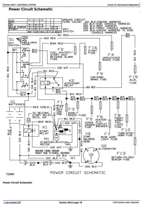 Third Additional product image for - John Deere 310E Backhoe Loader Diagnostic, Operation and Test Service Manual (tm1648)