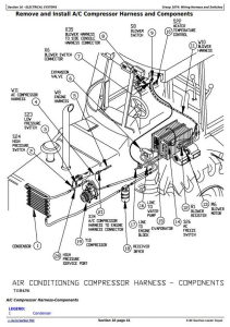 john deere 310e backhoe loader service repair technical manual (tm1649)