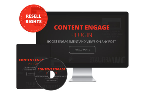 First Additional product image for - Content Engage Plugin