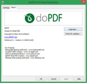 allows you to easily convert any printable document to pdf.