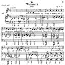 Wehmut, D.762, Low Voice in B minor, F. Schubert. C.F. Peters (Friedl.) A4   eBooks   Sheet Music