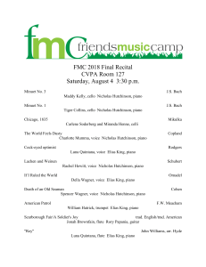 fmc 2018 final recital in room 127