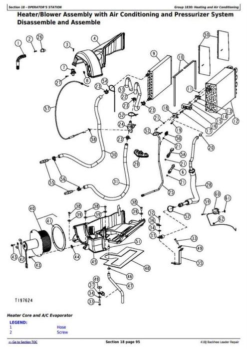 John Deere Maintenance Diagram