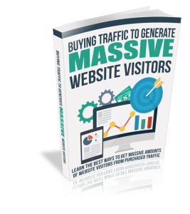 buying traffic to generate massive website visitors