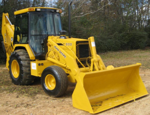 john deere backhoe loaders 410d, 510d diagnostic, operation and test service manual (tm1512)