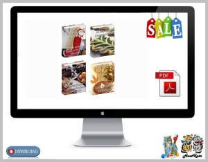 christmas cooking / recipe package * 9 ebooks
