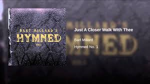just a closer walk with thee (bart millard) piano vocal only version