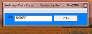 web design color code