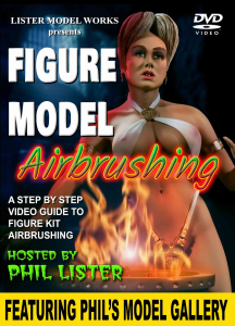 figure model airbrushing