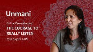 Online Open Meeting - THE COURAGE TO REALLY LISTEN | Movies and Videos | Religion and Spirituality