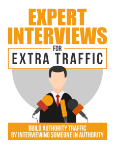 Expert Interviews for Extra Traffic | eBooks | Education