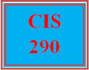 cis 290 week 1 individual: trusted information resources and component identification