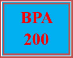 bpa 200 week 4 internal and external communication