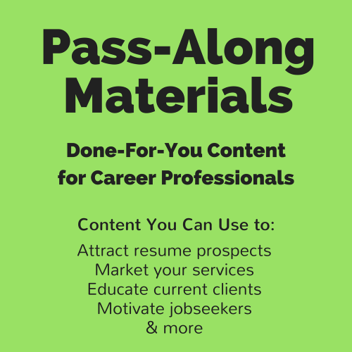 First Additional product image for - In the Interview: Explaining Why You Left a Job Pass-Along Materials