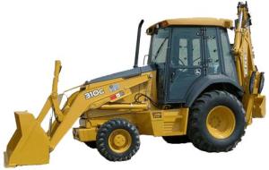 john deere 310g backhoe loader (s.n. before 910055) operate and maintenance manual (omt166698)