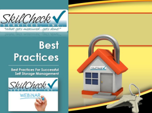 best practices for self storage management
