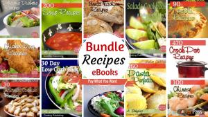 bundle: recipes 30 ebooks
