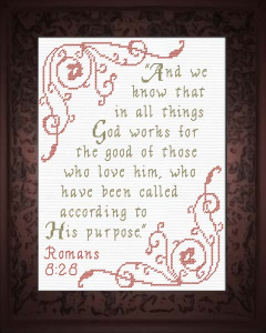 all things for good - romans 8:28