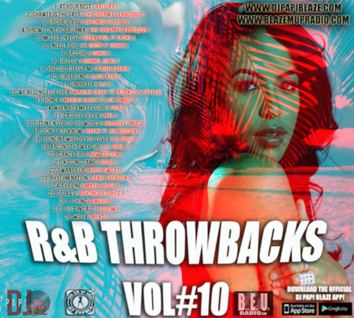 First Additional product image for - R&B Throwbacks Vol#10