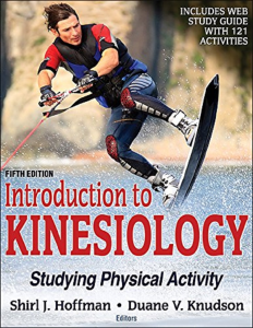 pdf - introduction to kinesiology 5 e by shirl j. hoffman