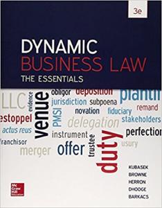 pdf - dynamic business law: the essentials