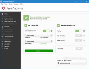 avira free antivirus v15.0
