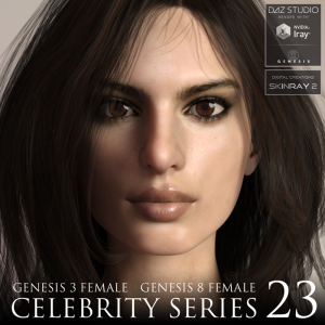 celebrity series 23 for genesis 3 and genesis 8 female