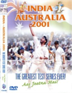 india vs australia 2001 test series