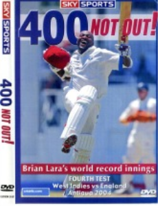 brian lara 400 not out