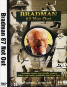 bradman 87 not out