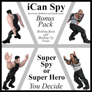 ican-spy bonus pack poses for the brute 8 and toon dwayne 8