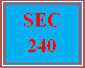 sec 240 week 4 assignment loss prevention strategies proposal