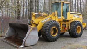 john deere 744h 4wd loader and 744h mh material handler service repair technical manual (tm1603)