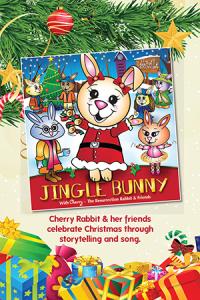 christmas jungle bunny