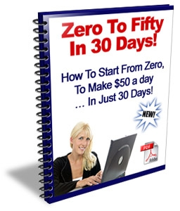 zero to fifty in 30 days!