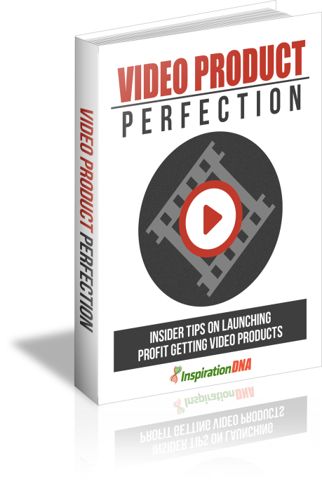 First Additional product image for - Video Product Perfection - Insider Tips On Launching Profit Getting Video Products