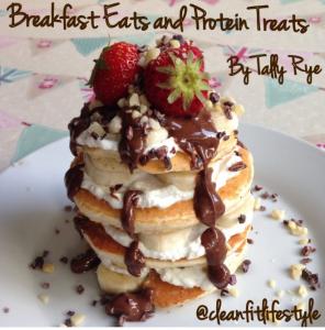 breakfast eats and protein treats