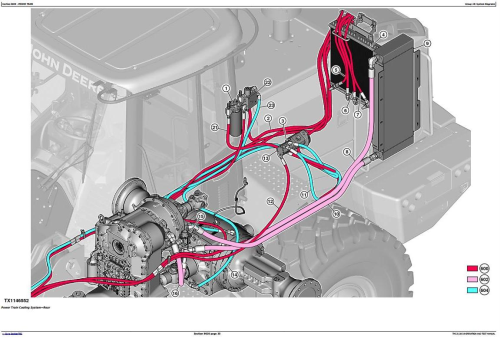 Fourth Additional product image for - John Deere 644K 4WD Loader (SN. from C658218, D658218) Diagnostic & Test Service Manual (TM13116X19)