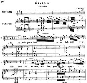 vieni fra queste braccia: cavatina for tenor (arturo). v. bellini: i puritani, act iii sc.2. vocal score, ed. ricordi (pd). italian.(a4)