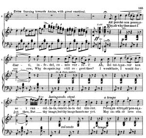 ah! perchè non posso odiarti: aria for tenor (elvino). v. bellini: la sonnambula, act ii sc.1. vocal score, ed. schirmer (pd). italian/english. (a4).