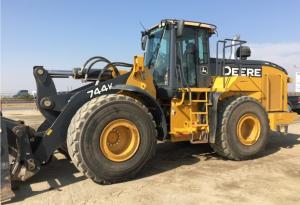 john deere 744k 4wd loader(sn.630720-664577) diagnostic, operation and test service manual (tm11742)