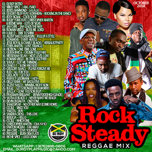 dj roy rock steady reggae mix 2018