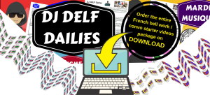 dj delf dailies complete french bell work and conversation starter videos package