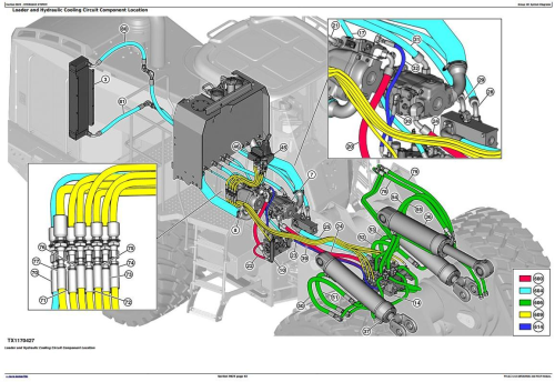 Third Additional product image for - John Deere 824K Series II 4WD Loader (SN:from C664100,D664100) Diagnostic & Test Manual (TM13221X19)