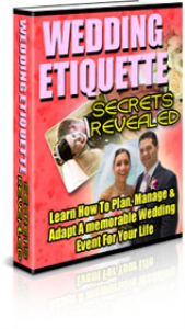 wedding etiquette secrets revealed